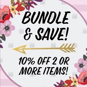 Pay only 1 shipping when you bundle!